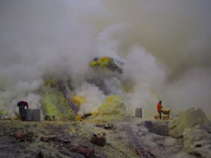 Sulfur Ijen
